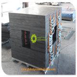 Het zware Stootkussen van de Kraanbalk UHMWPE van de Techniek van de Weerstand van de Slijtage Dury Harde Plastic Vierkante