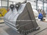 Fornecedor de China da cubeta limpa para as peças da escavadora da máquina escavadora