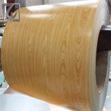 Деревянное Prepainted Aluzinc покрыло стальные катушки утюга для украшает