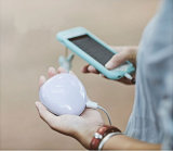 Gadget Portable Multi-Functional Hand Warmer Li-Polymer Power Bank avec miroir de maquillage