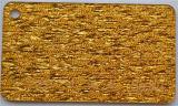 D'épaisseur 30mm 4'*8' Pattern paillettes dorées feuille acrylique
