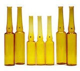Bernsteinfarbige Glasampulle 1-30ml
