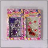 Venta al por mayor pegatinas teléfono celular joyería para la decoración del teléfono móvil