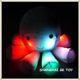 プラシ天白熱軽い夜ライト慰める人のおもちゃ