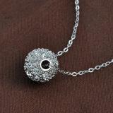 最新のFashion Jewelry Metal Alloy女性ガラスクリスタル・ボールのペンダントのネックレス