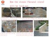 Natural Stone Grey Black Green Rusty Culture Slate Natura Slate
