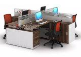 Partition moderne Furnirture de bureau de conception de poste de travail de personnes de Cp-27 deux ou quatre