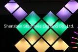 保証5年は魔法DJ装置のChangebleピクセルアドレス指定可能なLEDパネルのクリスマスの装飾の結婚式の装飾LEDの照明を上演する
