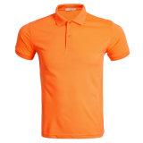 Les hommes de la haute plaine de la qualité de la publicité tee-shirts polo avec le logo du client