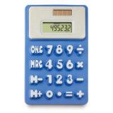 Солнечная 8 Цифры силиконового герметика калькулятор с индивидуального логотипа
