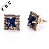 De in het groot Super Kwaliteit George Michael Cross Earrings van de Oorringen van de Nagel van de Partij Unieke Vierkante voor Meisjes