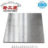 Soldadura de vácuo do molde de tijolos refractários de liga dura