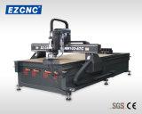 Ezletter 1300*2500mm de precisión de piñón y cremallera helicoidal de madera de transmisión de señales y anuncio de Router CNC (MW1325-ATC)