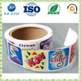 제품 레이블, 접착성 비닐 장식용 레이블 스티커를 위해 완전히 하십시오