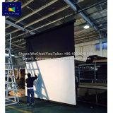 Las pantallas de xy de 200 pulgadas de tamaño grande Los precios de las pantallas de proyección comercial eléctrico