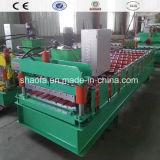 Painel do teto de alumínio de alta qualidade máquina de formação de rolos