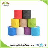 Высокое качество FDA одобрил хлопка сплоченных перевязочные материалы