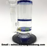 Glaswasser-Pfeife mit Bienenwabe-Filtrierapparat Waterpipe