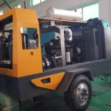 SDP250E 디젤에 의해 모는 휴대용 나사 공기 압축기