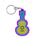 Usine directement KEYRING 2D/3D en PVC souple PVC trousseau personnalisé
