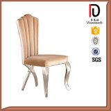 Un design moderne PU chaise en acier inoxydable