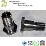 Design personalizado as peças de máquinas de processamento metálico por tornos CNC