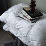 綿カバーアヒルおよび羽のガセットの枕