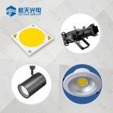 Alta eficacia luminosa LED chip COB 20-100W para iluminación de interiores y exteriores