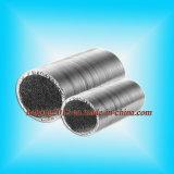 Ventilação e dutos flexíveis da folha de alumínio de Exhuasting