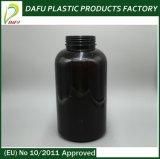[950مل] محبوب بلاستيكيّة مظلمة كهرمانيّة بروتين [بوودر] وعاء صندوق