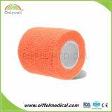 Vendaje cohesivo elástico auto-adhesivo colorido quirúrgico para la exportación