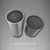 Metallic Honeycomb Catalyst Support for Motorcycle Substrate