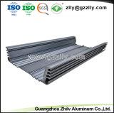 Venta caliente! Extrusión de aluminio para el equipo de audio del coche de disipador de calor del radiador con ISO9001