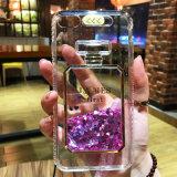 Coperchio di lusso della cassa del telefono della parte posteriore del liquido della stella di scintillio per il iPhone 7