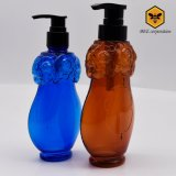 Brennkolben-geformte kosmetische Plastikflasche mit Pumpe (BFH-200)