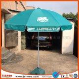 Kundenspezifischer Sun Regenschirm im Freienbekanntmachens