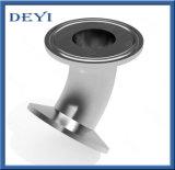 Санитарная нержавеющая сталь локоть Triclover 45 градусов