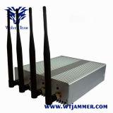 4W puissant signal brouilleur WiFi (2.4G, 5.8G)