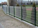溶接された曲げられた塀かプラスチック上塗を施してある3D塀のパネルの製造者
