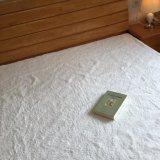 超柔らかいプラシ天の羊毛の防水マットレスのカバー