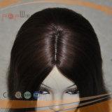 Parrucca piena del merletto dei capelli brasiliani del Virgin (PPG-l-0804)