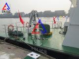 Палубный судовой кран морского пехотинца заграждения польностью гидровлической костяшки локтя телескопичный