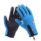 人または女性のタッチ画面の手袋はタッチ画面のスポーツの手袋のスキー手袋を防水する