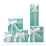 Anel de embalagens de papel impresso Nice Brinco Jóias Caixa de oferta #Jewelrybox