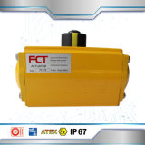 SS316 Pneumatische Actuators van uitstekende kwaliteit van de Klep