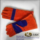 Перчатки Split кожи плеча работая