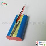 力バンク1s2p Icr14500 3.7V 1600mAhのリチウム電池