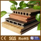 140*23 mm composite de bois creux WPC Engineered Outdoor Flooring Commerce de gros
