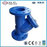 La norme ANSI-125/150 en fonte ductile Y Soupape Strianer