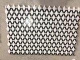 Il nero Mixed del marmo bianco di Thassos mette a nudo le mattonelle di mosaico della grata